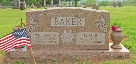 BAKER, LINA R - Washington County, Arkansas   LINA R BAKER - Arkansas Gravestone Photos