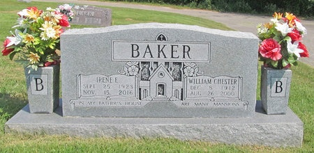 BAKER, IRENE E - Washington County, Arkansas   IRENE E BAKER - Arkansas Gravestone Photos