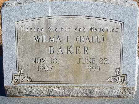 BAKER, WILMA I. - Washington County, Arkansas   WILMA I. BAKER - Arkansas Gravestone Photos