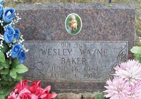BAKER, WESLEY WAYNE - Washington County, Arkansas   WESLEY WAYNE BAKER - Arkansas Gravestone Photos