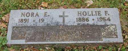 BARBER, HOLLIE F - Washington County, Arkansas   HOLLIE F BARBER - Arkansas Gravestone Photos