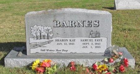 BARNES, SAMUEL FAYE - Washington County, Arkansas | SAMUEL FAYE BARNES - Arkansas Gravestone Photos