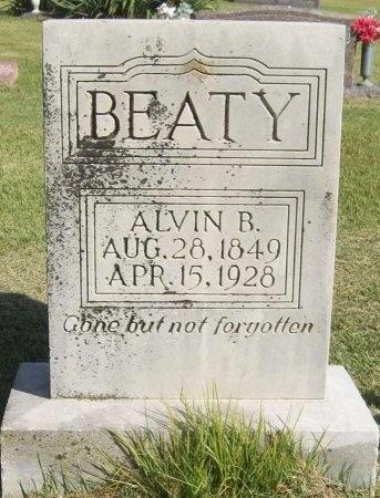 BEATY, ALVIN B - Washington County, Arkansas | ALVIN B BEATY - Arkansas Gravestone Photos