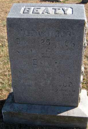 BEATY, EMILY - Washington County, Arkansas | EMILY BEATY - Arkansas Gravestone Photos