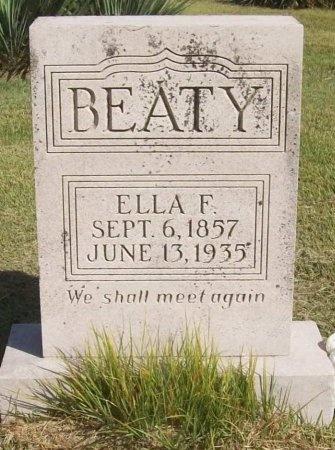 BEATY, ELLA F - Washington County, Arkansas | ELLA F BEATY - Arkansas Gravestone Photos