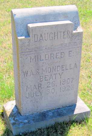 BEATY, MILDRED E. - Washington County, Arkansas | MILDRED E. BEATY - Arkansas Gravestone Photos