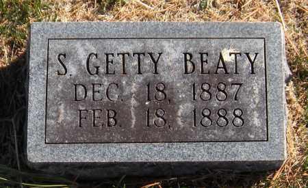 BEATY, S. GETTY - Washington County, Arkansas | S. GETTY BEATY - Arkansas Gravestone Photos