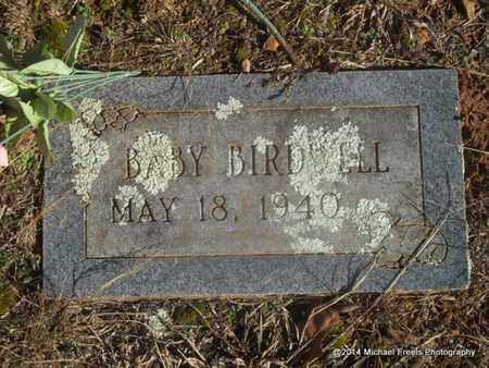 BIRDWELL, BABY - Washington County, Arkansas | BABY BIRDWELL - Arkansas Gravestone Photos