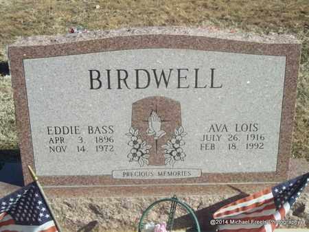 BIRDWELL, EDDIE BASS - Washington County, Arkansas | EDDIE BASS BIRDWELL - Arkansas Gravestone Photos