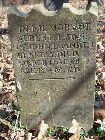 BLAKELY, ALBERT L. - Washington County, Arkansas | ALBERT L. BLAKELY - Arkansas Gravestone Photos