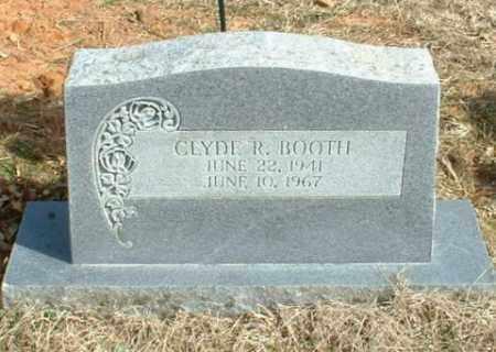 BOOTH, CLYDE R - Washington County, Arkansas   CLYDE R BOOTH - Arkansas Gravestone Photos