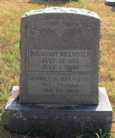 BREWSTER, BOUDINOT - Washington County, Arkansas | BOUDINOT BREWSTER - Arkansas Gravestone Photos