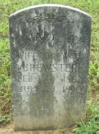 BREWSTER, MARY A - Washington County, Arkansas | MARY A BREWSTER - Arkansas Gravestone Photos