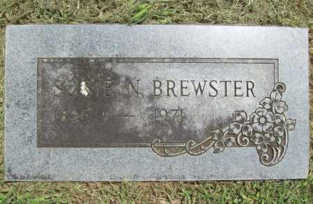 BREWSTER, SUSIE NOLIA - Washington County, Arkansas   SUSIE NOLIA BREWSTER - Arkansas Gravestone Photos