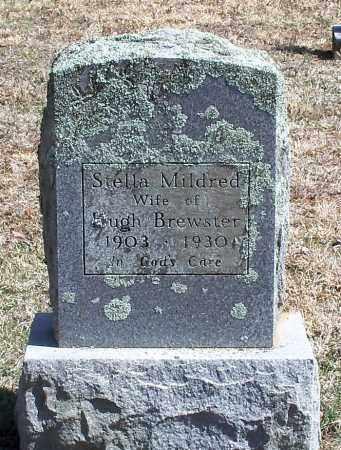 BREWSTER, STELLA MILDRED - Washington County, Arkansas | STELLA MILDRED BREWSTER - Arkansas Gravestone Photos