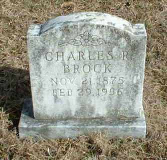 BROCK, CHARLES R - Washington County, Arkansas   CHARLES R BROCK - Arkansas Gravestone Photos