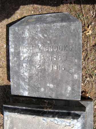 BROOKS, SUSIE K. - Washington County, Arkansas | SUSIE K. BROOKS - Arkansas Gravestone Photos
