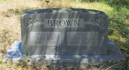 BROWN, BELLE LAURA - Washington County, Arkansas | BELLE LAURA BROWN - Arkansas Gravestone Photos