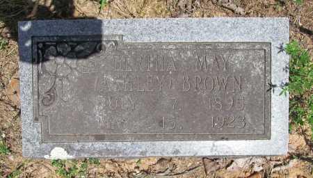 ASHLEY BROWN, BERTHA MAY - Washington County, Arkansas | BERTHA MAY ASHLEY BROWN - Arkansas Gravestone Photos