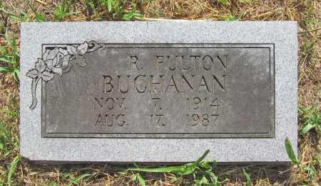 BUCHANAN, R FULTON - Washington County, Arkansas   R FULTON BUCHANAN - Arkansas Gravestone Photos