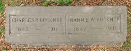 BUCKNER, NANNIE W - Washington County, Arkansas | NANNIE W BUCKNER - Arkansas Gravestone Photos