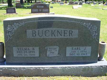 BUCKNER, EARL J. - Washington County, Arkansas | EARL J. BUCKNER - Arkansas Gravestone Photos
