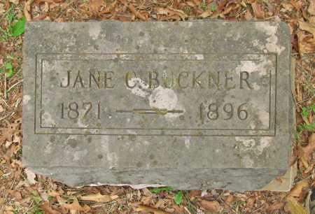 BUCKNER, JANE C - Washington County, Arkansas | JANE C BUCKNER - Arkansas Gravestone Photos
