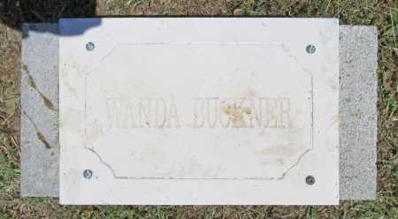 BUCKNER, WANDA - Washington County, Arkansas | WANDA BUCKNER - Arkansas Gravestone Photos