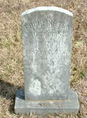 BULLINGTON, T - Washington County, Arkansas | T BULLINGTON - Arkansas Gravestone Photos