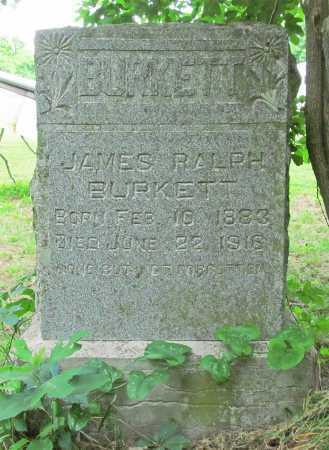 BURKETT, JAMES RALPH - Washington County, Arkansas   JAMES RALPH BURKETT - Arkansas Gravestone Photos
