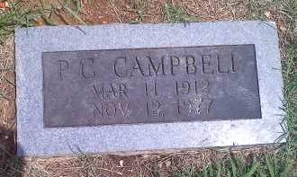 "CAMPBELL, PERCY CONROY ""P.C. "" - Washington County, Arkansas 