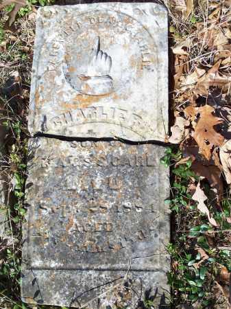 CARL, CHARLIE R. - Washington County, Arkansas   CHARLIE R. CARL - Arkansas Gravestone Photos