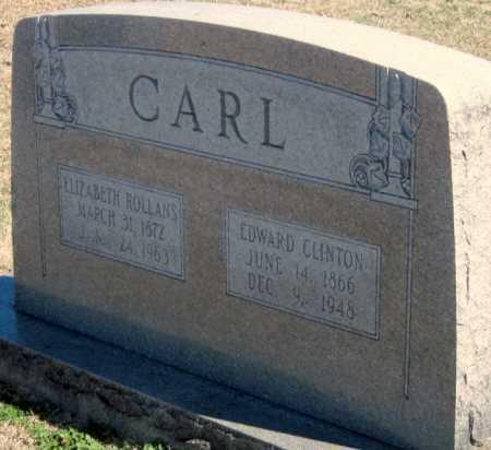 CARL, EDWARD CLINTON - Washington County, Arkansas   EDWARD CLINTON CARL - Arkansas Gravestone Photos