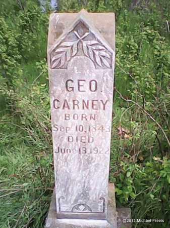 CARNEY (VETERAN UNION), GEORGE - Washington County, Arkansas | GEORGE CARNEY (VETERAN UNION) - Arkansas Gravestone Photos
