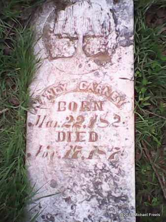 GRAHAM CARNEY, NANCY - Washington County, Arkansas | NANCY GRAHAM CARNEY - Arkansas Gravestone Photos