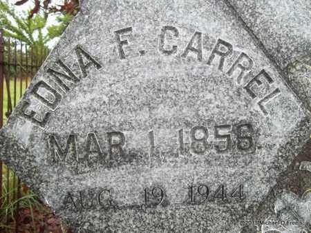 CARREL, EDNA FRANCES (CLOSEUP) - Washington County, Arkansas   EDNA FRANCES (CLOSEUP) CARREL - Arkansas Gravestone Photos