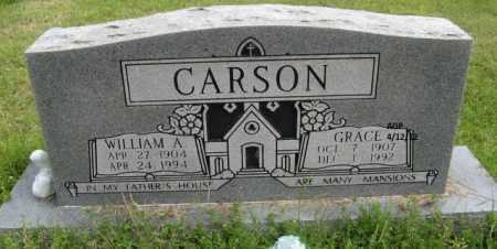 CARSON, GRACE - Washington County, Arkansas | GRACE CARSON - Arkansas Gravestone Photos