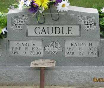 CLARK CAUDLE, PEARL VIVIAN - Washington County, Arkansas | PEARL VIVIAN CLARK CAUDLE - Arkansas Gravestone Photos