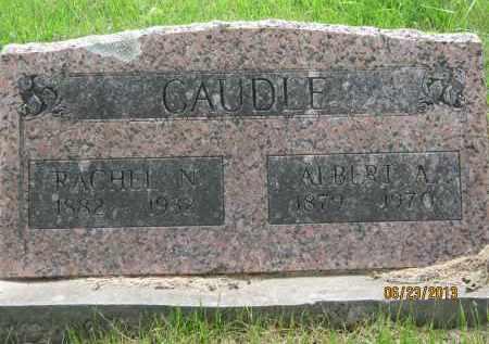 CAUDLE, RACHEL N - Washington County, Arkansas | RACHEL N CAUDLE - Arkansas Gravestone Photos