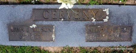 CERVENY, ERMA J - Washington County, Arkansas | ERMA J CERVENY - Arkansas Gravestone Photos