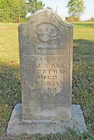 CHEATHAM, ANNIS R - Washington County, Arkansas | ANNIS R CHEATHAM - Arkansas Gravestone Photos