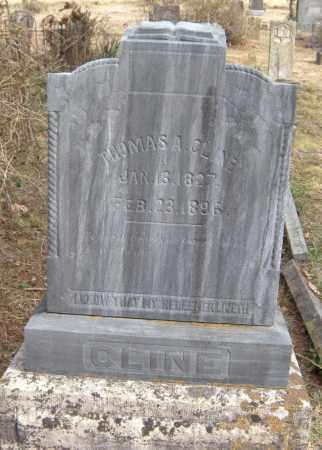 CLINE, THOMAS A. - Washington County, Arkansas | THOMAS A. CLINE - Arkansas Gravestone Photos