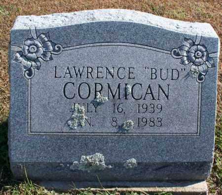 "CORMICAN, LAWRENCE ""BUD"" - Washington County, Arkansas   LAWRENCE ""BUD"" CORMICAN - Arkansas Gravestone Photos"