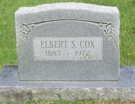 COX, ELBERT S - Washington County, Arkansas | ELBERT S COX - Arkansas Gravestone Photos