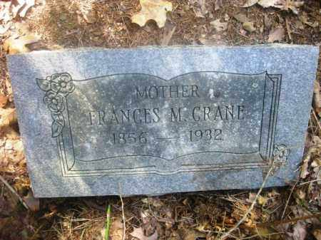 CRANE, FRANCES - Washington County, Arkansas | FRANCES CRANE - Arkansas Gravestone Photos