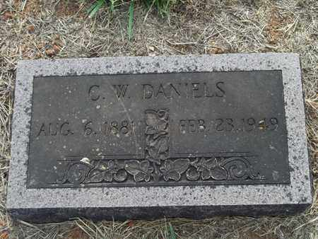 DANIELS, C W - Washington County, Arkansas | C W DANIELS - Arkansas Gravestone Photos