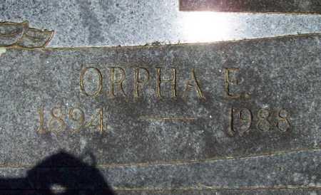 DANIELS, ORPHA ELIZABETH (CLOSEUP) - Washington County, Arkansas | ORPHA ELIZABETH (CLOSEUP) DANIELS - Arkansas Gravestone Photos