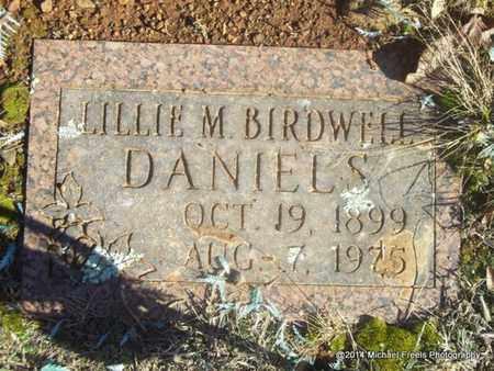 DANIELS, LILLIE M - Washington County, Arkansas | LILLIE M DANIELS - Arkansas Gravestone Photos
