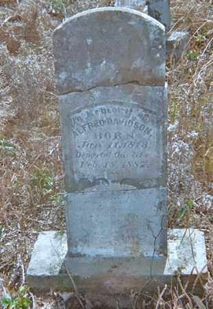 DAVIDSON (VETERAN CSA), ALFRED - Washington County, Arkansas   ALFRED DAVIDSON (VETERAN CSA) - Arkansas Gravestone Photos