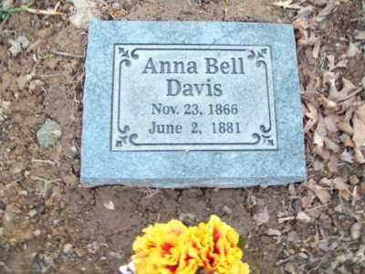 DAVIS, ANNA BELL - Washington County, Arkansas   ANNA BELL DAVIS - Arkansas Gravestone Photos